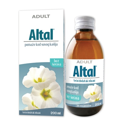 Altal syrup – helps with dry cough