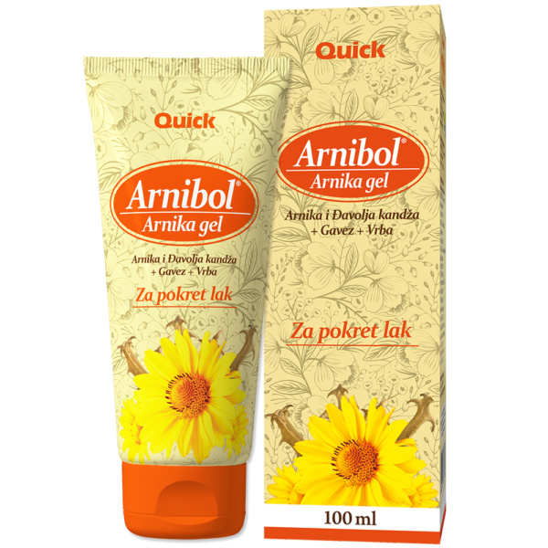 Arnibol Arnika Gel 100ml