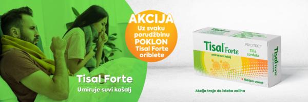 Akcija Tisal Forte oriblete