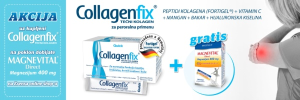 banner akcija collagecfix plus gratis magnevital direct