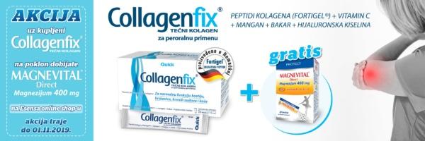 banner akcija collagecfix plus gratis magnevital direct
