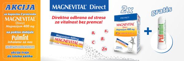 banner akcija magnevital direct plus gratis pulmint inhalator
