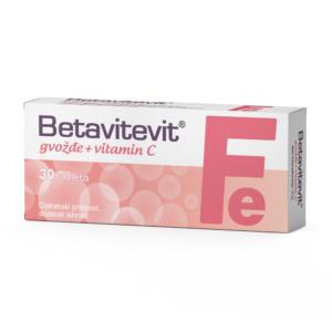 Betavitevit Fe I Vitamin C