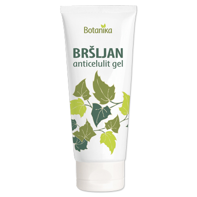 Bršljan anticelulit gel 100ml