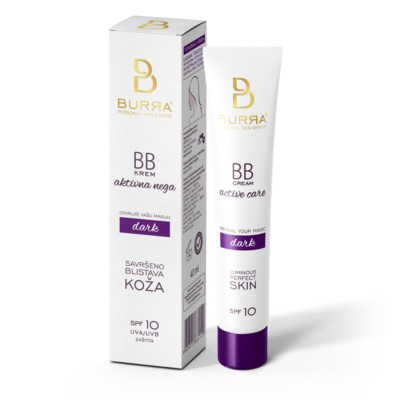 Burra BB active care dark, tonirani krem, 40ml