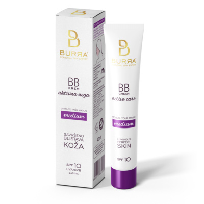 Burra BB active care medium, tonirani krem, 40ml