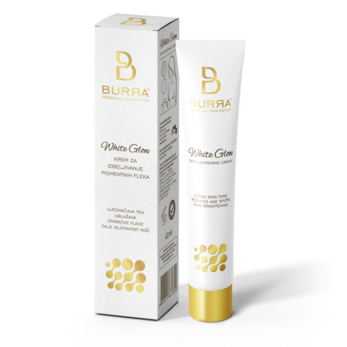 BURЯA White Glow Skin lightening cream, 40 ml