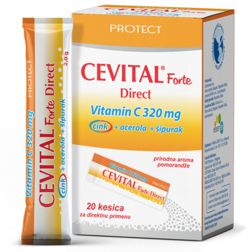 Cevital Forte Direct, 20 kesica