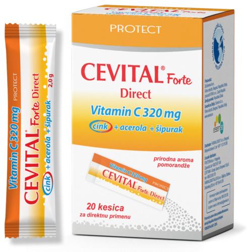 Cevital Forte Direct, 20 кесички