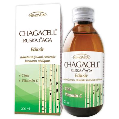 Chagacell Ruska Čaga sirup 200ml