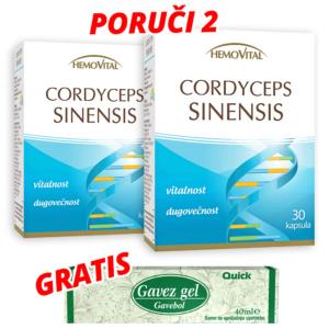 Cordiceps Sinensis Kapsule Plus Gratis Gavez Gel