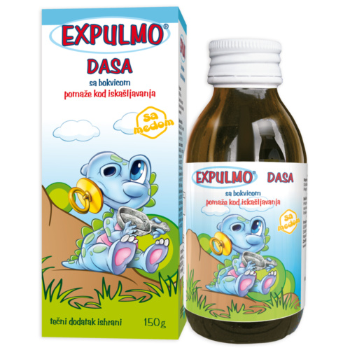 EXPULMO Dasa syrup – helps with cough