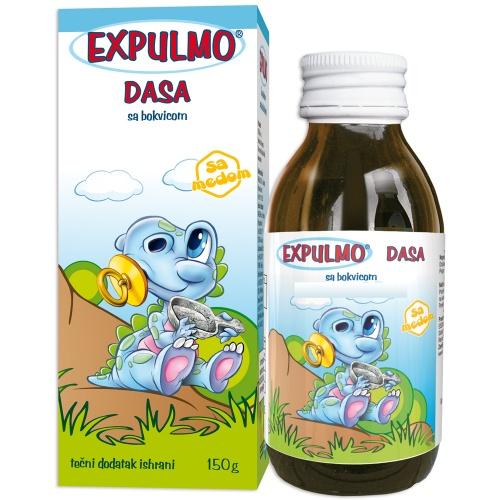 EXPULMO Dasa сируп со тегавец – помага во излачување на секретот на горните дишни патишта