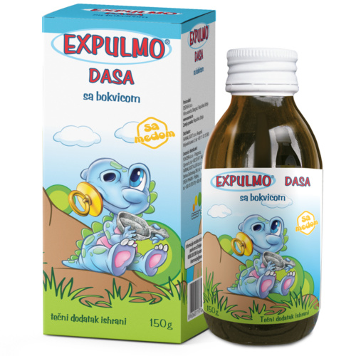 EXPULMO Dasa syrup – helps with cough