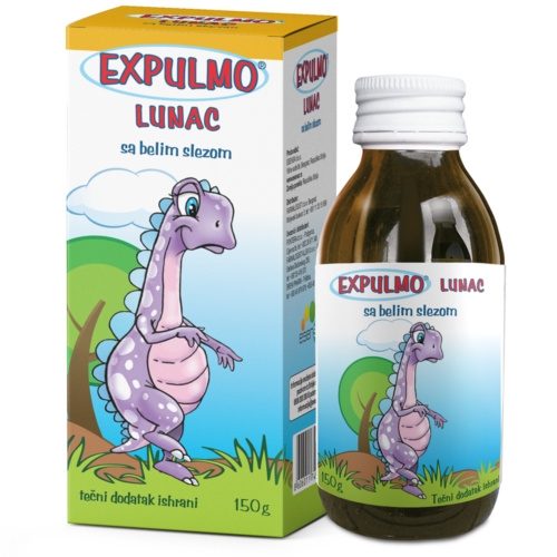 EXPULMO Lunac syrup – helps with dry cough