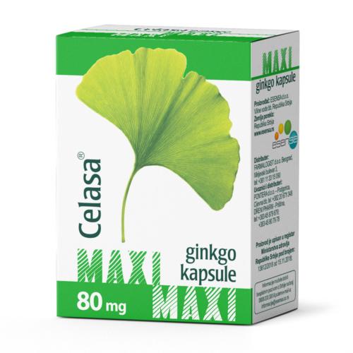 Ginkgo Celasa Maxi ® capsules
