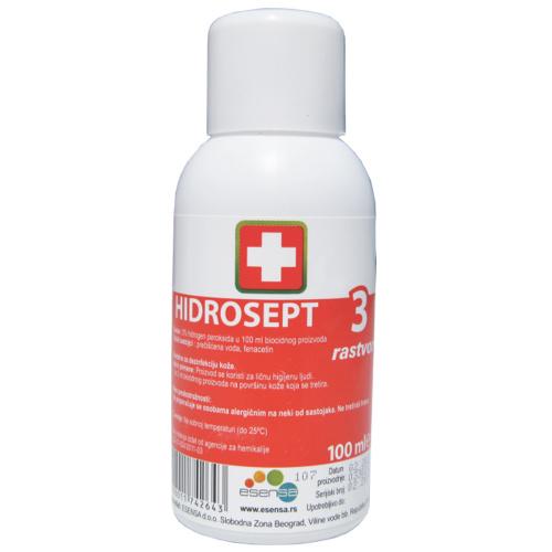 Hidrosept 3% rastvor, 100ml