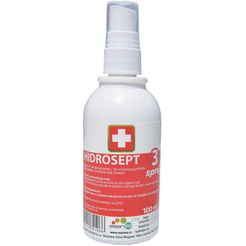 Hidrosept 3% sprej rastvor, 100ml