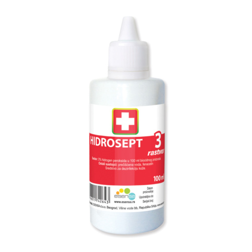 HIDROSEPT 3% SOLUTION, 100ML