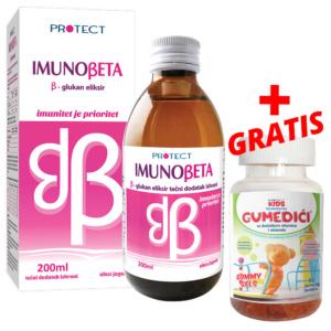 Imunobeta Glukan Sirup Plus Gratis Gumedici