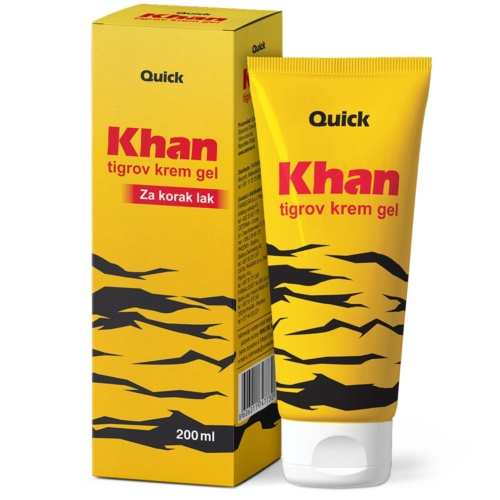 Khan Tiger cream gel 200ml