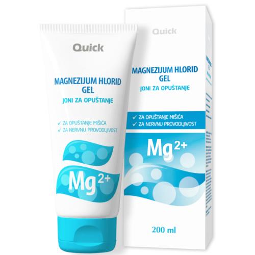 Magnezijum hlorid gel, joni za opuštanje 200ml