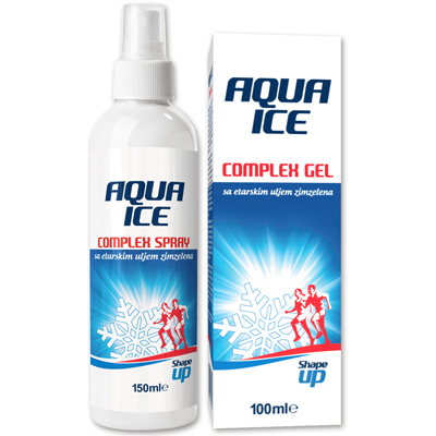 Aqua Ice Complex Gel and Spray