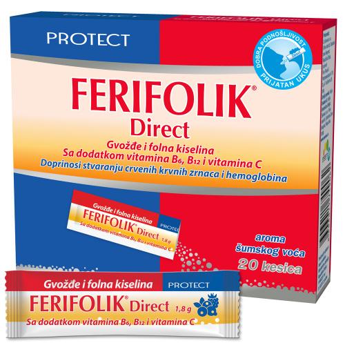 Ferifolik Direct, прашок за директна примена