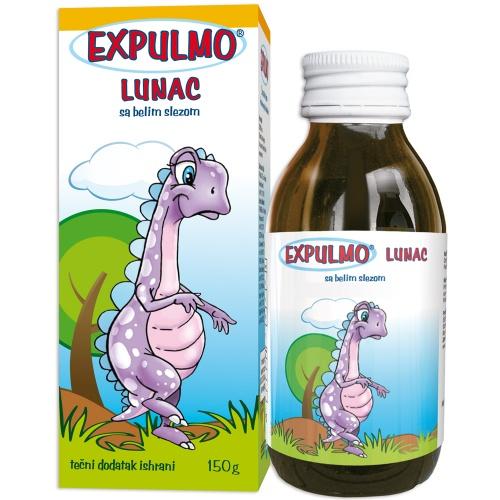 EXPULMO Lunac сируп со бел слез – помага во заштита на слузокожата на горните дишни патишта