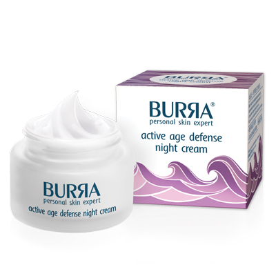 Burra active age defense night cream, noćni krem za aktivnu negu kože, 50ml