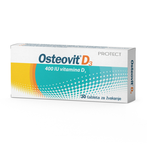 OSTEOVIT D3 chewable tablets
