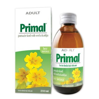 Сироп Primal — Помогает при всех видах кашля