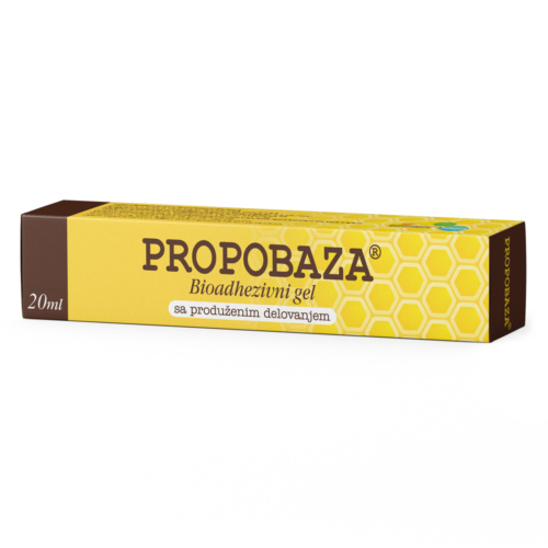 Propobaza bioadhezivni gel 20 ml