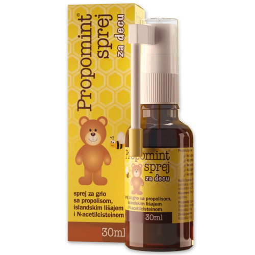 Propomint spray for children, antiseptic spray for throat