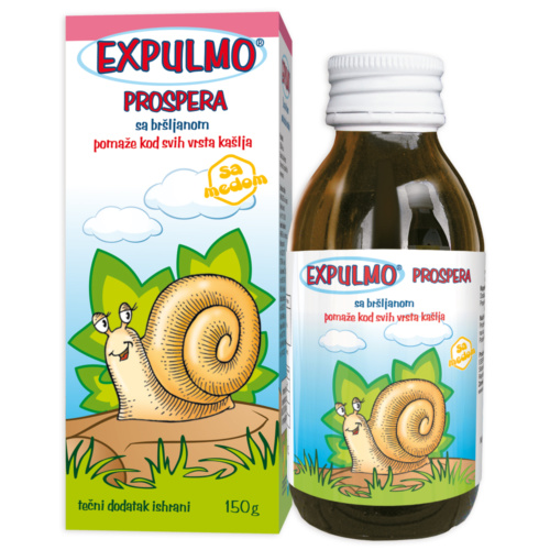 EXPULMO Prospera syrup – assists in all types of cough