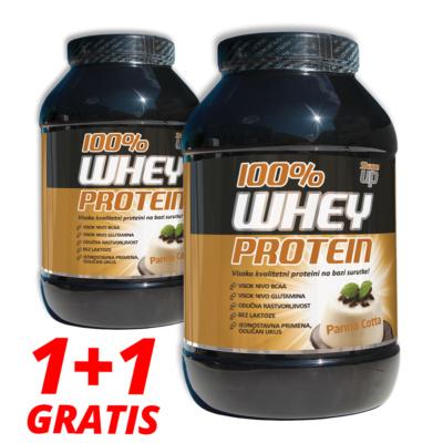 Whey Protein 100%, ukus panna cotta, prašak  908g