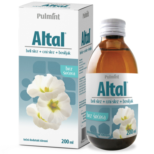 Altal syrup – helps with dry cough, 200 ml