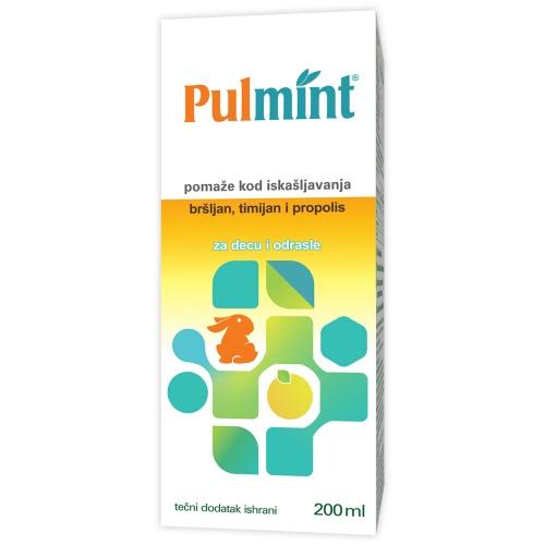 Pulmint, tečni dodatak ishrani