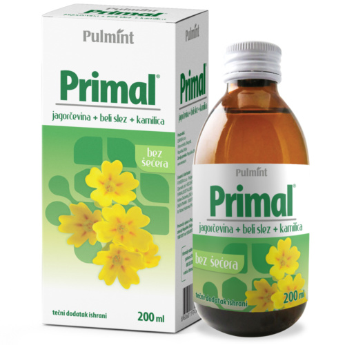 Primal syrup – assists in all types of cough, 200 ml