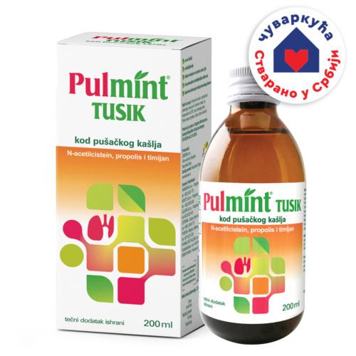 Pulmint Tusik, tečni dodatak ishrani, 200 ml