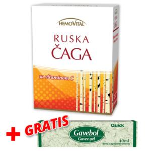 Ruska Caga + Gratis Grudi Gavez Gel Gavebol