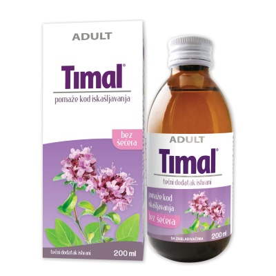 Timal syrup – helps with cough
