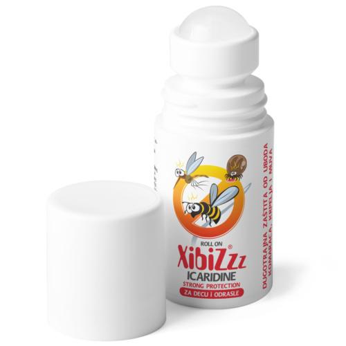 XIBIZ STRONG PROTECTION ICARIDINE ROLL-ON, 50ML