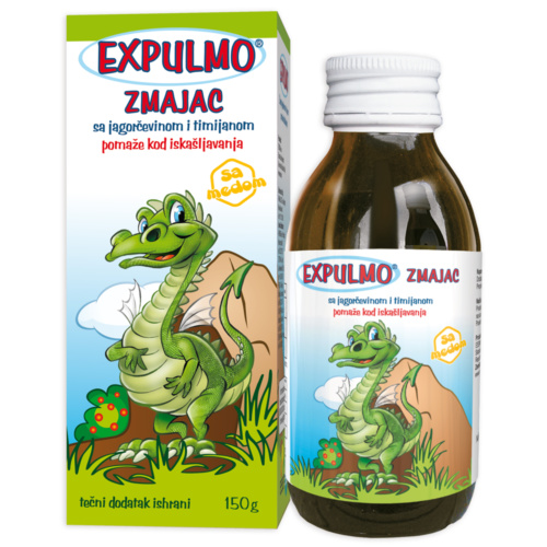 EXPULMO Zmajac syrup – helps with cough